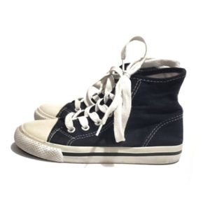 Other - highland outtfitter high top black canvas sneakers